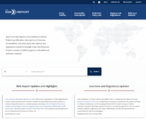 New Version of Risk Report Database